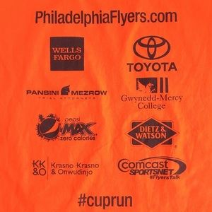 Fruit of the Loom Shirts - 2012 Philadelphia Flyers Playoff Hockey Tee
